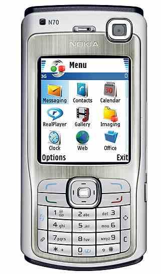 Descargar temas para Nokia N70