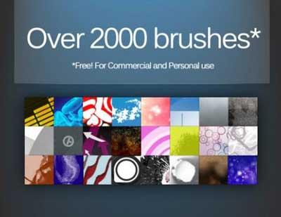 2000 pinceles para Photoshop
