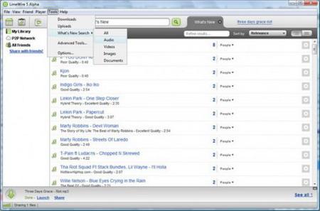 descargar gratos limewire 5 - videos, musica, programas y mas