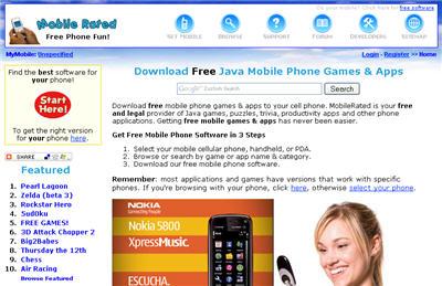 Juegos java para celular