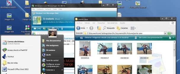 Tema para windows xp de vista