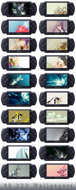 20 Wallpapers para PSP