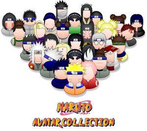 Avatares para el Messenger de Naruto