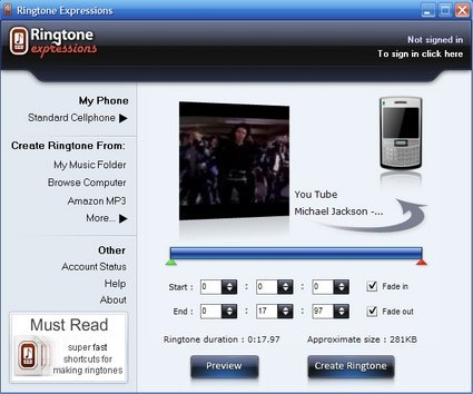 Crea tonos para celular con los videos de Youtube