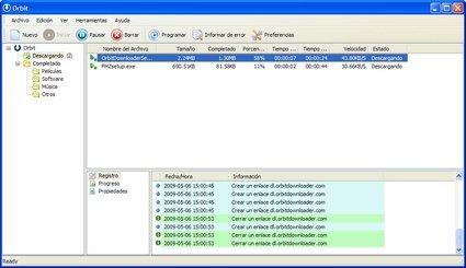 Descarga archivos mas rapido con Orbit