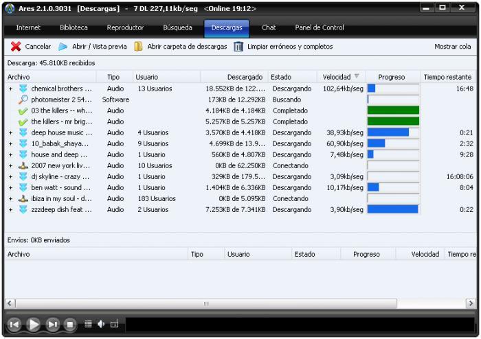 Descargar Ares 2.1.1.3035