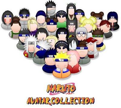 avatares messenger naruto