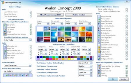skin messenger 2009 avalon