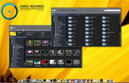 tema windows vista cairo inspired