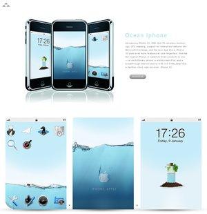 Tema para Iphone Ocean