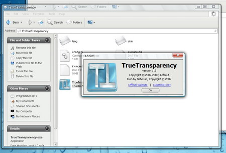 true transparency windows vista en windows xp