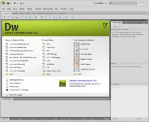 descargar dreamweaver cs4