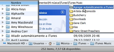 itunes9 automatic