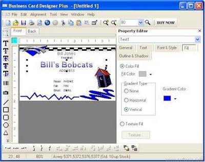 programa tarjetas visita