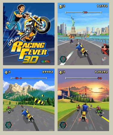 moto racing celular