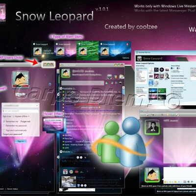 mejores skins messenger 2009
