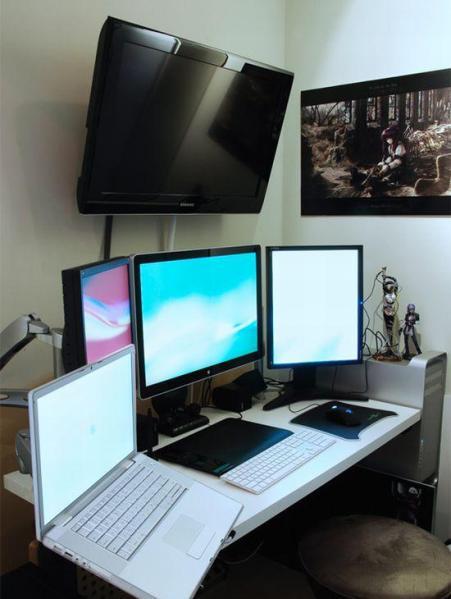 estacion trabajo geek