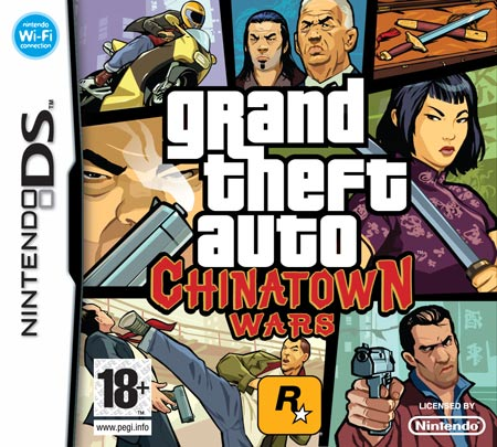 grand theft auto chinatown wars nintendo ds