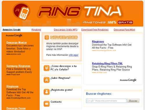 ringtina ringtones gratis