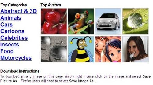 avatares msn gratis