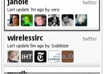 Gravity, mejor cliente Twitter para Symbian