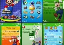 Tema de Mario para Sony Ericsson
