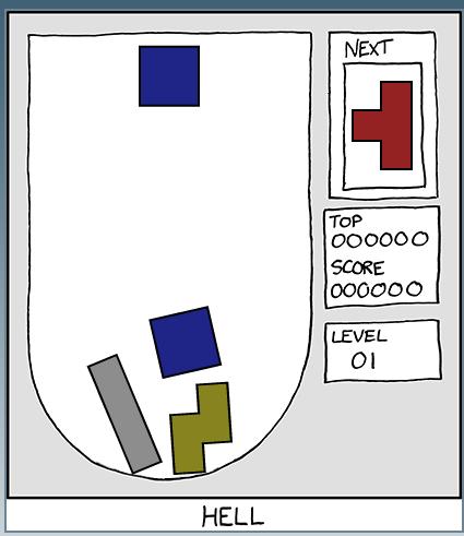 El tetris mas dificil