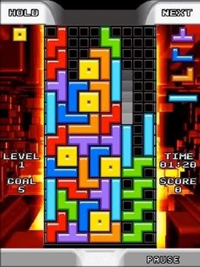 Tetris para celular