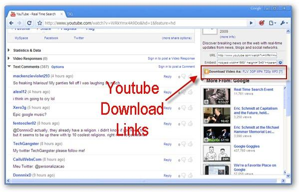 descargar youtube en chrome