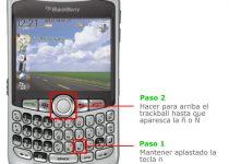 poner ñ en blackberry