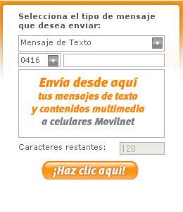 enviar mensajes gratis movilnet
