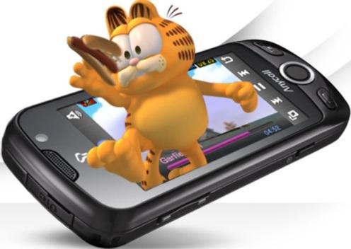 Samsung w960 pantalla 3D