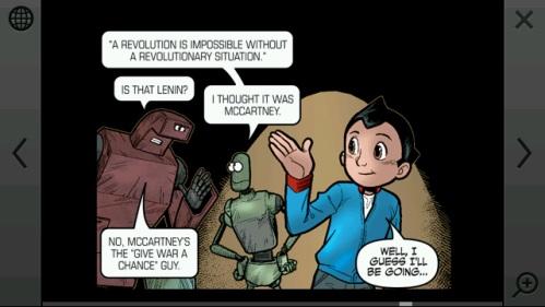 Astro Boy comic Nokia N97