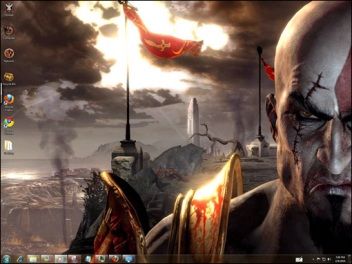 theme God of war windows 7