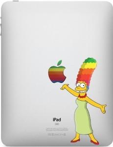 March Simpson iPad