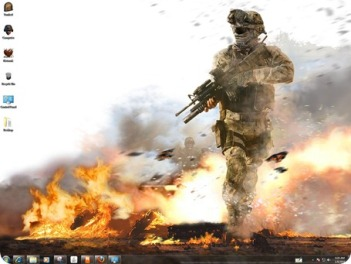 theme juego call of duty windows 7