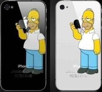 Homero Simpson iPhone