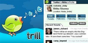 trill, twitter para Nokia