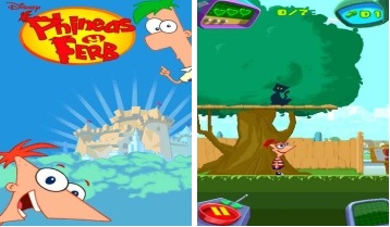 Phineas y Ferb combaten contra el rey robot juego disney