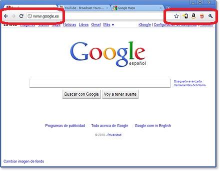 google chrome versión 6