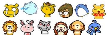 descargar emoticones animé gratis