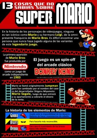 13 cosas que no sabes de Mario Bros.