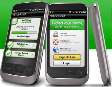 Antivirus Lookout Mobile Security