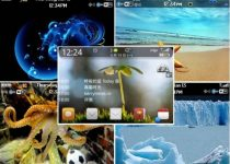 BlackBerry 8520 themes