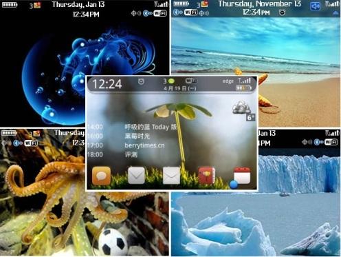 BlackBerry 8520 themes