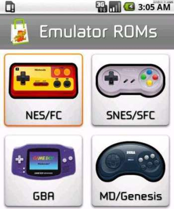 Emulator-ROMs-Android