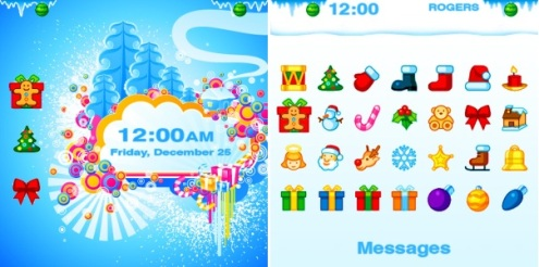 BB themes Animated Winter Wonderland