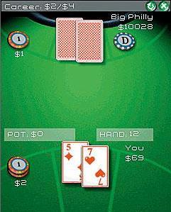 Poker games cellphone