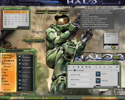 Temas halo windows
