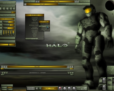 Tema halo windows